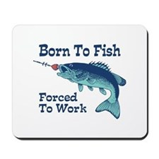 Funny Fishing Mousepad