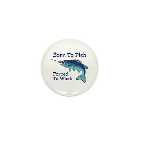 Funny Fishing Mini Button