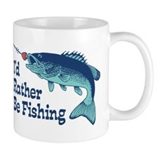 Funny Fishing Small Mug