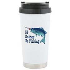 Funny Fishing Travel Mug