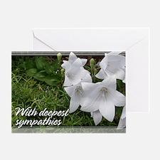 Balloon Flower Sympathy Card 5x7