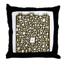 Ant hill Throw Pillow