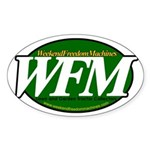 WFM Sticker (Oval 10 pk) LOOK A 10 PACK!