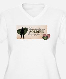 standing by my soldier T-Shirt