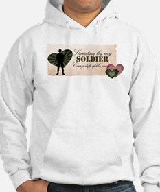 standing by my soldier Hoodie