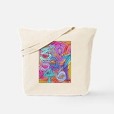 Numbers game Tote Bag