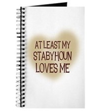 At Least My Stabyhoun Loves M Journal