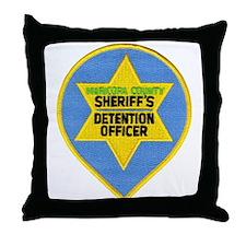 Maricopa County Jailer Throw Pillow