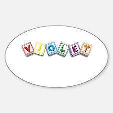 Violet Decal