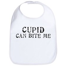 Cupid Can Bite Me Bib