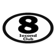 8 Second Club - Stickers