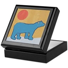 Blue Bear Jewelry Box