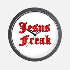 Jesus Freak Wall Clock