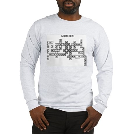 MOTHER SCRABBLE-STYLE Long Sleeve T-Shirt