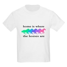 Home is where the horses are T-Shirt