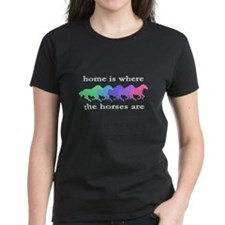 Home is where the horses are Tee