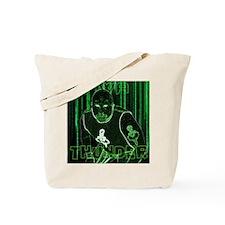 Thunder Matrix Tote Bag