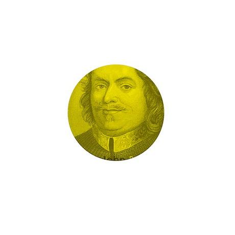 John Bunyan - Puritan Preacher (Mini Button)