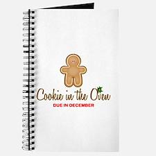 Cookie Due December Journal