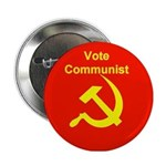 Vote Communist Button