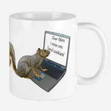 Squirrel Computer Mom Mug