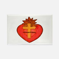 Sacred Heart/Sagrado Corazon Rectangle Magnet