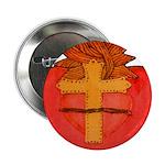 Sacred Heart/Sagrado Corazon Button