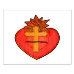 Sacred Heart/Sagrado Corazon Small Poster