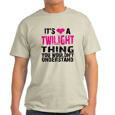 Twilight Thing v2 Light T-Shirt