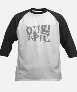 Ghost Hunting EVP Kids Baseball Jersey