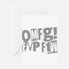 Ghost Hunting EVP Greeting Card