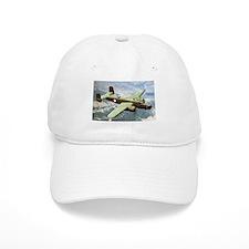 B-25 In Flight Baseball Cap