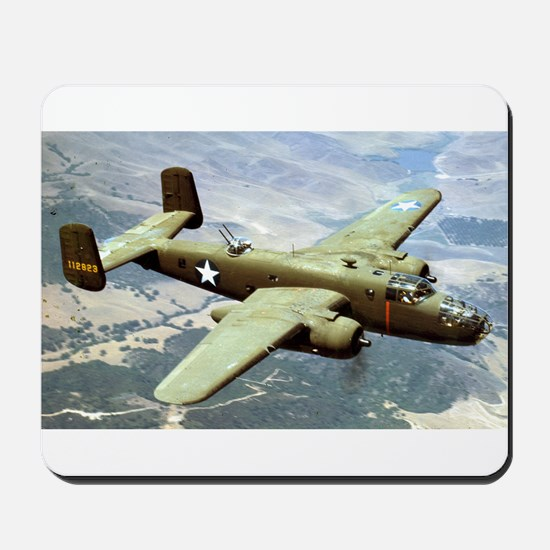 B-25 In Flight Mousepad
