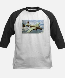 B-25 In Flight Kids Baseball Jersey