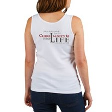 Christianity is Pro-Life (Tank Top)