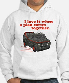A-Team van & quote Jumper Hoody
