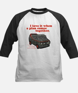 A-Team van & quote Kids Baseball Jersey
