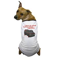A-Team van & quote Dog T-Shirt