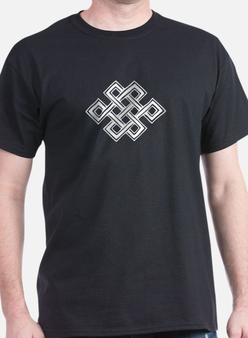 Endless Knot (white) - T-Shirt
