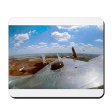 B-25 Out The Top Mousepad