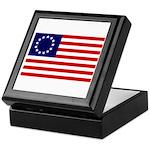 Betsy Ross Flag Memory Box