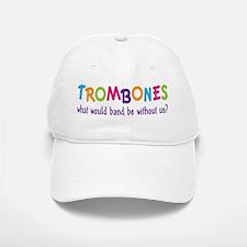 Funny Rainbow Band Trombone Baseball Baseball Cap