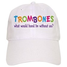 Funny Rainbow Band Trombone Cap