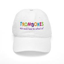 Funny Rainbow Band Trombone Baseball Cap