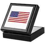 American Flag Memory Box