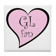 GL fan Tile Coaster