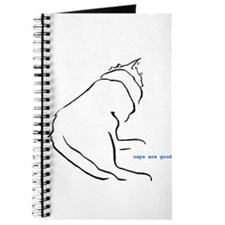 napping cat Journal