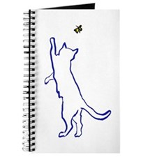 Cat with Butterfly Journal