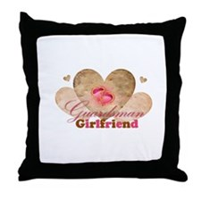 Guardsmans girlfriend Throw Pillow