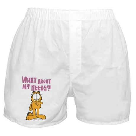 What About My Needs? Boxer Shorts